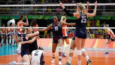 BRONZE! USA BEAT DUTCH WOMEN 3-1... FINAL Rio 2016 Women's Volleyball -- 1 GOLD:  China;  2 Silver: Serbia; 3 Bronze: USA; .... 4 Netherlands; 5 Brazil Russia Korea Japan; 9 Italy Argentina; 11 Cameroon Puerto Rico;