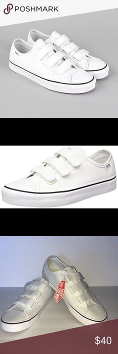 7585524cc73081 Vans Style 23 V Brand new in box with original tags! Vans Style 23 V (Canvas)  True White Size Men Vans Shoes Sneakers