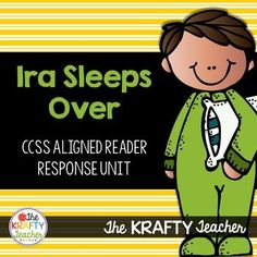 Teach Personal Narratives, Compounds Words and more with Ira Sleeps Over. My students LOVE Ira Sleeps Over by Bernard Waber!