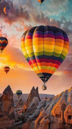 Balloons Photography, Nature Photography, Travel Photography, Air Balloon Rides, Hot Air Balloon, Balloon Balloon, Ballons Fotografie, Balloon Pictures, Air Ballon