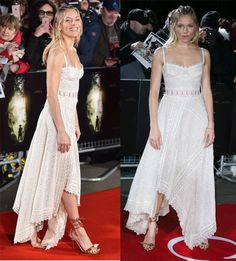 """Sienna Miller at the European Premiere of """"Lost City of Z"""" held at the British Museum in London on February 16, 2017."""