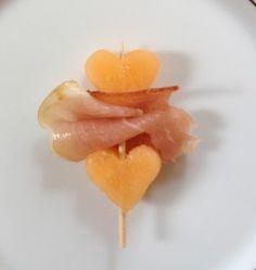 Meloen + ham