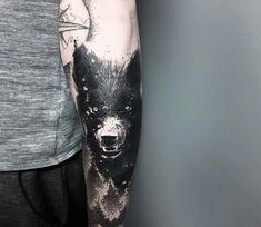 Wolf tattoo by Darek Tattoo