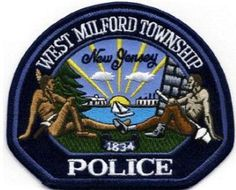 US State of New Jersey, West Milford Township Police Department Patch