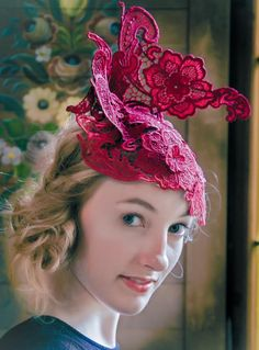 Lace Masterclass with Jane Stoddart hosted by Millinery Workshops in France by Tracy Chaplin