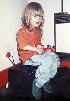 Adele (seen here at age 4)