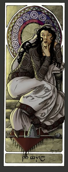 Queens Of Numenor - Ar-Zimphrael by ~shyangell on deviantART