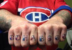 This is hard core ! Montreal Canadiens, Hockey, Tattoos, Ducks, Piercings, Core, Blog, Image, Peircings