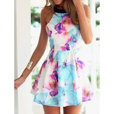 Cool! Black Braces Strapless Flower Printing Dress just $23.99 from ByGoods.com! I can't wait to get it!