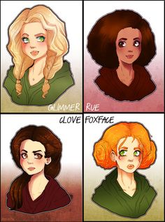 The Hunger Games: Tributes  by =Demachic. OH MY GOD DEMACHIC DREW HUNGER GAMES FANART *feints*