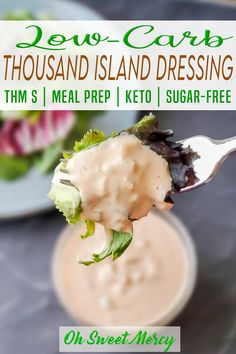 Best Low Carb Recipes, Thm Recipes, Sugar Free Recipes, Lunch Recipes, Low Carb Salad Dressing, Salad Dressing Recipes, Salad Dressings, Trim Healthy Mama Salads, Low Carb Sauces