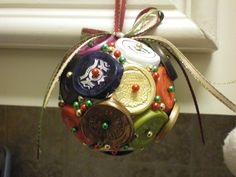Ornament made of wine foil