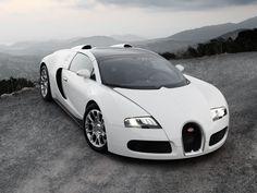 white bugatti veyron high resolution - PuzAuto