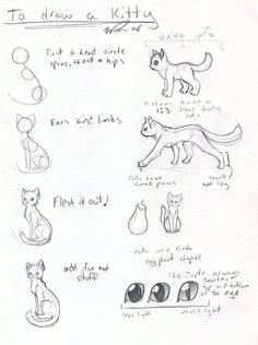 Cat tutorial -OLD- by ~FrostDragonVacu on deviantART