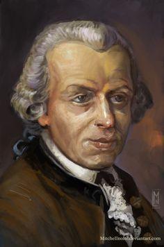 Immanuel Kant by Mitchellnolte.deviantart.com on @DeviantArt