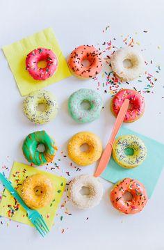 Donuts + sprinkles make us happy campers!