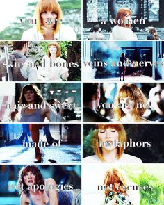 Let them see what a woman looks like They may have not ever seen one before Jurassic World Claire, Jurassic World Fallen Kingdom, Jurassic Park World, World Movies, All Movies, I Movie, Claire Dearing, Dallas Howard, Skin And Bones