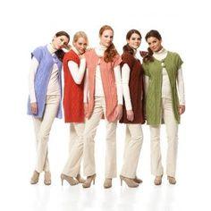 Free Intermediate Women's Vest Knit Pattern