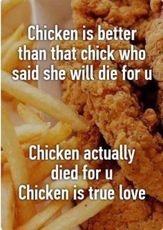 chicken is true love
