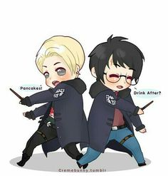 Oh my god, im so sorry for these random disappearances, its hard for me to stay motivated nowadays D'; I'm sorry im not active in the Harry Potter Fando. Chibi Drarry Miss you Fanart Harry Potter, Harry Potter Draco Malfoy, Harry Potter Ships, Harry Potter Images, Harry Potter Fan Art, Harry Potter World, Drarry Fanart, Hermione Granger Fan Art, Hogwarts
