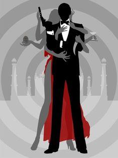 James bond movies, james bond party, casino royale, trailer film, timothy d James Bond Movie Posters, James Bond Movies, Film Posters, Estilo James Bond, James Bond Style, James Bond Party, James Bond Theme, Roger Moore, Bond Girls