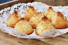 Kokostoppar med hint av citron & vanilj | Catarina Königs matblogg
