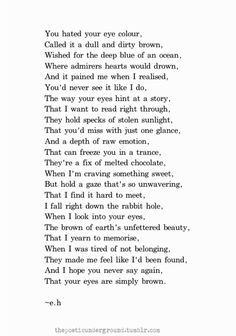 Image result for brown eyes tumblr quotes