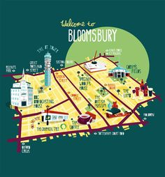 FREE.  Bloomsbury, London.   Best Neighborhoods to Explore?  Bloomsbury is London's academic heart. It's still home to the University of London, the British Museum and British Library, but was made famous by the Bloomsbury Group of 1930s intellectuals. You'll find blue plaques on their former houses all around the area, along with garden squares and coffee shops.