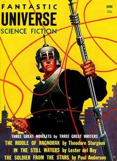 Fantastic universe - Science Fiction ( 1950's / Sci Fi / Futurism )
