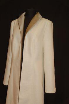 Gehrock, Seidenkleid, Standesamtkleid, Brautmutterkleid, mother of bride Blazer, Jackets, Women, Fashion, Frock Coat, Bridal Gown, Curve Dresses, Down Jackets, Moda