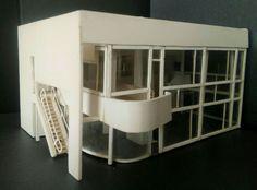 Prospettiva House Shamberg - Richard Meier