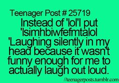 Trendy Funny Quotes For Teens Humor Hilarious Teenager Posts 60 Ideas Funny Shit, Funny Stuff, Funny Teen Posts, Relatable Posts, Funny Quotes, Funny Memes, 9gag Funny, Memes Humor, Teenager Quotes