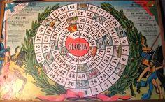 famoso jogo da glória, que entretinha todas as crianças na época