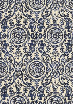 Sansome #fabric in #navy from the Richmond collection. #Thibaut