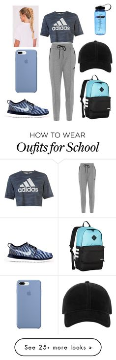 """Sin título #295"" by cami02 on Polyvore featuring NIKE, adidas and rag & bone"