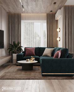 Modern interior design – Home Decor Interior Designs Simple Living Room, Cozy Living Rooms, Living Room Grey, Living Room Interior, Home Living Room, Dining Rooms, Luxury Living Rooms, Apartment Living, Home Room Design