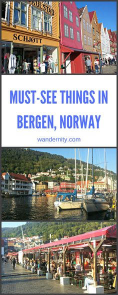Travel to Bergen, Norway in summer to get the best photos of the colorful wooden houses and fjord for your Instagram