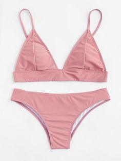 Summer Bathing Suits, Cute Bathing Suits, Summer Swimwear, Summer Suits, Bikini Swimwear, Pink Bikini, Cute Swimsuits, Cute Bikinis, High Leg Bikini