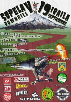 Todavía te puedes inscribir en el V Sopelana Downhill que se celebrará el 19 de septiembre #longboard #downhill #Sopelana #skateboarding