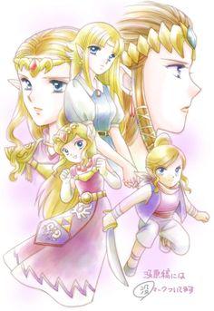 The Legend of Zelda  / Princess Zelda / 「没原稿+αでまとめ」/「海月」の漫画 [pixiv]