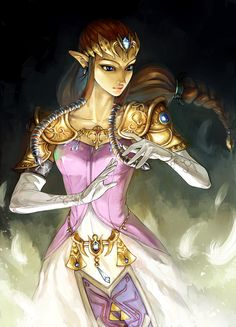 The Legend of Zelda: Twilight Princess, Princess Zelda / Zelda by Alderion-Al on deviantART