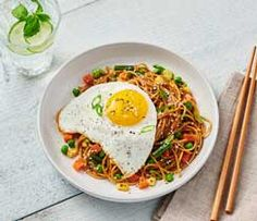 Sesame Noodles & Fried Egg