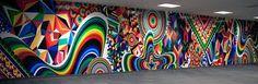 Image result for pattern mural