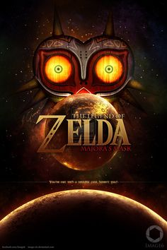 Majora's Mask (Fan Poster) by Image-Six on deviantART Well, this is unbelievable.