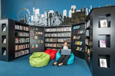 images of high school library design | School Libraries - The Duston School Library