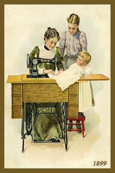 Olde America Antiques | Quilt Blocks | National Parks | Bozeman Montana : Sewing and Quilting - Singer Sewing Machine 4