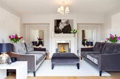 5 bedroom detached house for sale in Fairmile, Henley-On-Thames, Oxfordshire, - Rightmove. Henley Homes, Henley On Thames, Detached House, Property For Sale, Lounge, Couch, Bedroom, Furniture, Home Decor
