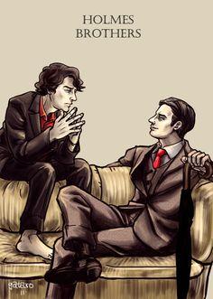 http://gataro.deviantart.com/art/The-Holmes-Brothers-257448143