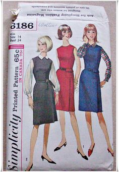 Simplicity 6186 by sewneedled on Etsy