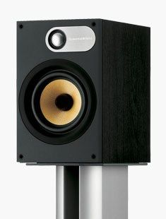 Bowers & Wilkins 686. Incredible sound from a small bookshelf speaker.